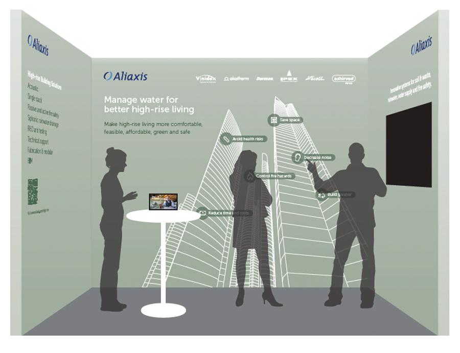 Aliaxis-booth